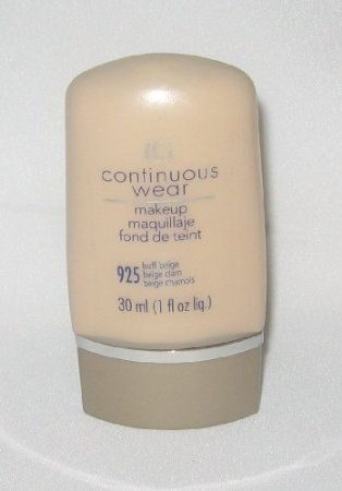 Covergirl Continuous Wear Makeup Foundation Buff Beige 925, 1 fl. oz (30 ml) ()