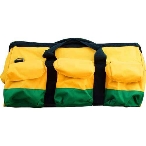 BonDura 41-108 24-Inch by 10-Inch by 11-Inch Mason's Tool Bag, Hunter Green and Blue - Bon Tool Tool Bags