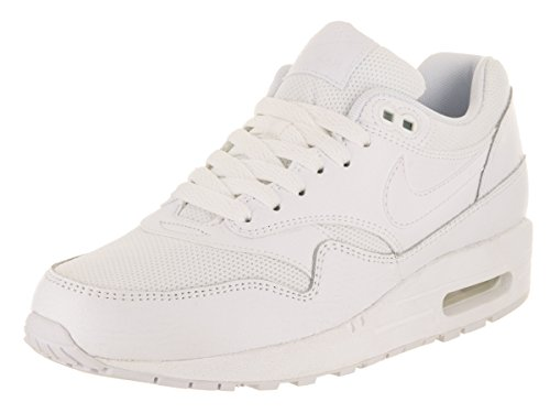 NIKE Womens Air Max 1 Premium Running Shoe White/White White