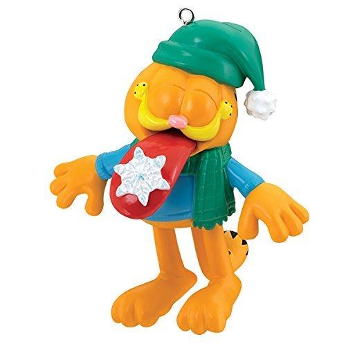 - Carlton Heirloom Ornament 2017 Garfield with Snowflake on Tongue - #CXOR029M