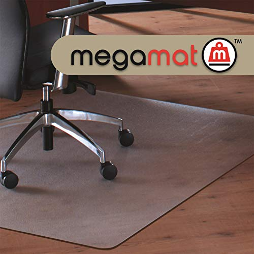 Cleartex MegaMat, Heavy Duty Chair Mat, for Hard Floors or Carpets, Size 46