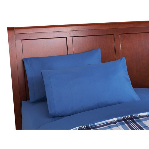 Mainstays Blue Plaid Bed In A Bag Bedding Set Queen New