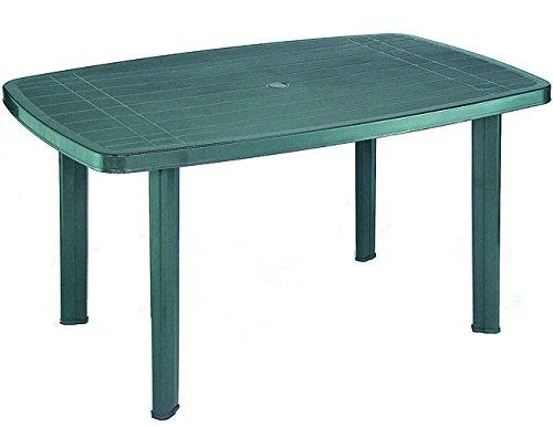 Fun Star Tavolo in plastica, dimensioni 85X137x72 cm, Verde: Amazon ...