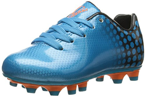 Vizari Palomar FG Soccer Cleat (Toddler/Little Kid/Big Kid), Blue/Black, 13 M US Little Kid