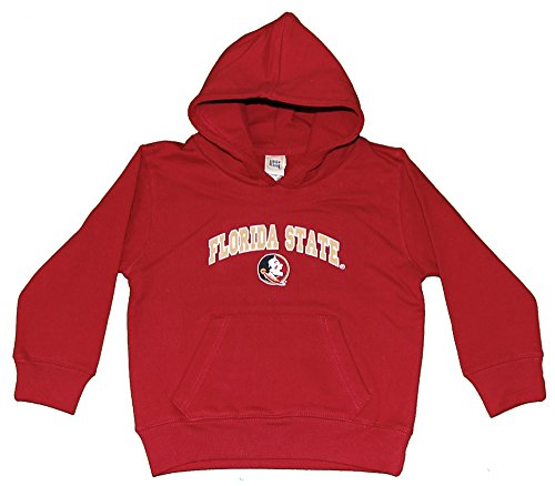 Little King NCAA Florida State Seminoles Hooded Pullover, Youth X-Large, Garnet