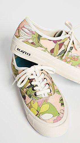 SeaVees Pink Legend Sneakers Secret Women's Garden Turk x Trina 1Orzq1x