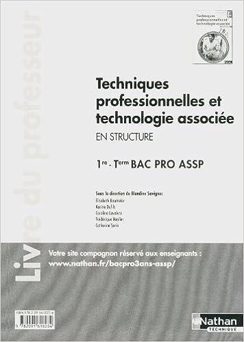 En ligne téléchargement gratuit Techniques professionnelles et technologie associée - 1re et Term Bac Pro ASSP pdf ebook