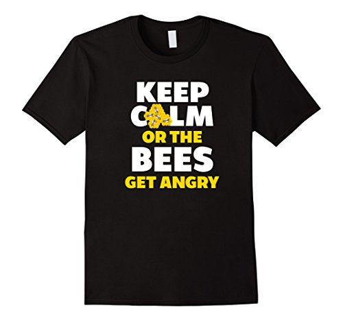 Keep Calm Bees T-Shirt - beekeeper gifts