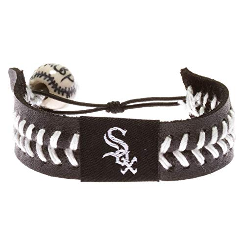 Chicago White Sox Team Color Baseball Bracelet ()