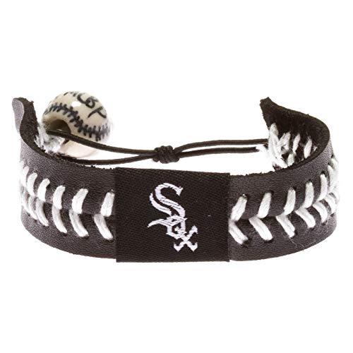 Chicago White Sox Team Color Baseball Bracelet