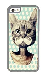 Apple Iphone 5C Case,WENJORS Uncommon Kitten Soft Case Protective Shell Cell Phone Cover For Apple Iphone 5C - TPU Transparent