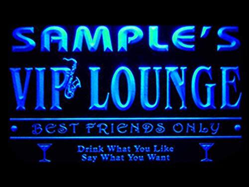 (qi-tm Name Personalized Custom VIP Lounge Best Friends Only Bar Beer Neon Sign)