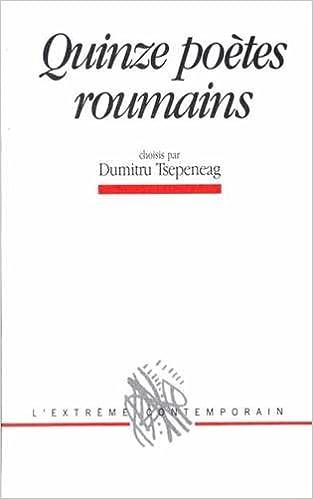 Livre Quinze poètes roumains pdf, epub ebook