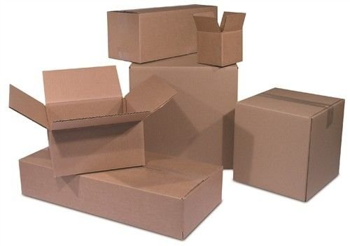 Cardboard Cigar Box (Eight24hours 100 12x9x3 Cardboard Shipping Boxes FLAT Corrugated Cartons + FREE E-Book)