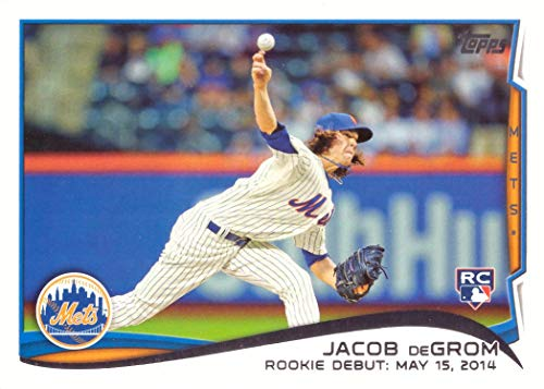 2014 Topps Update Baseball #US-57 Jacob deGrom Rookie Debut Card