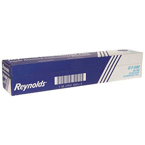 - Reynolds Wrap 614M Metro Aluminum Foil Roll, Lighter Gauge Standard, 18