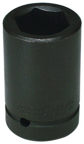 Wright Tool 89-95MM 95MM 1-Inch Drive 6 Point Deep Metric Impact Socket by Wright Tool  B005G0QQXE