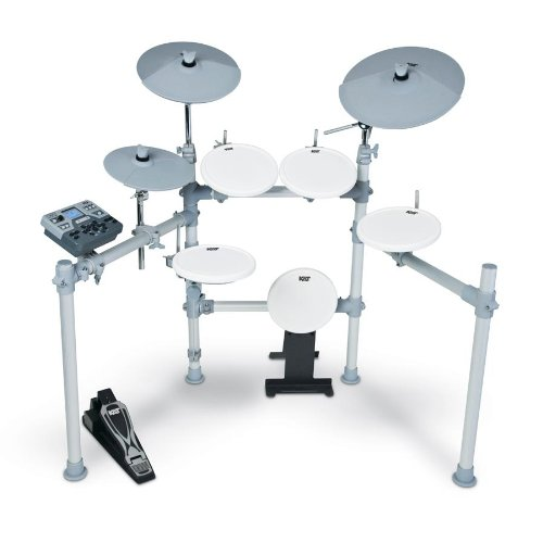 - KAT Percussion High Performance KT2 Digital Drum Set - Electronic Drum Set Includes GoDpsMusic Polish Cloth & Vic Firth/GoDpsMusic 5a Drumsticks