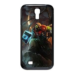 Samsung Galaxy S4 9500 Black phone case World of Warcraft Thrall WOW0723722