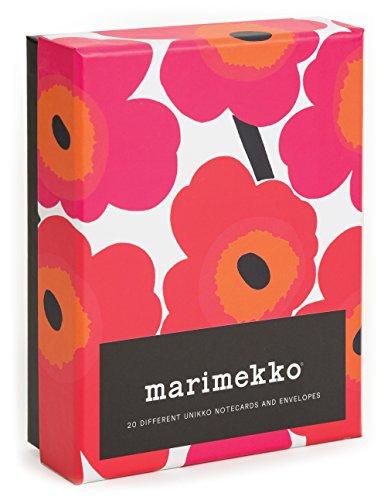 Marimekko Notes: 20 Different Unikko Notecards and Envelopes