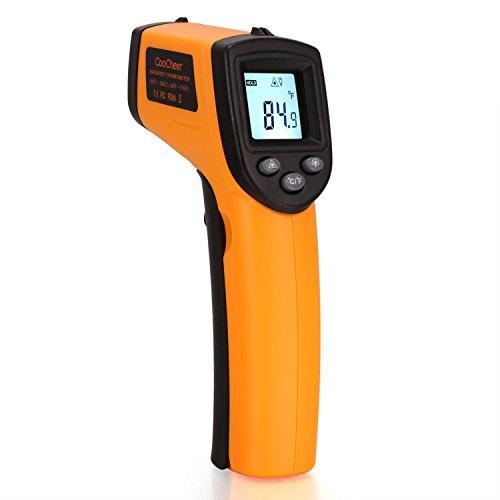 Coocheer Infrared Digital Temperature Gun Thermometer Laser Point CDT-01