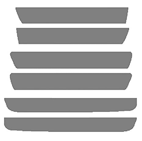 20/% Dark Smoke Precut Vinyl Tint Cover for 2015-2019 Dodge Challenger Sidemarker /& Reflector