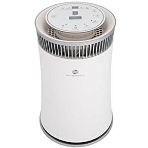 SilverOnyx Air Purifier with True HEPA Filter, Allergen and Odor Reduction, UV Sanitizer, Best Air Cleaning System for Pets, Smokers, Cooking, Powerful 5-Speed Fan, Large Room 600 Sq Ft - White