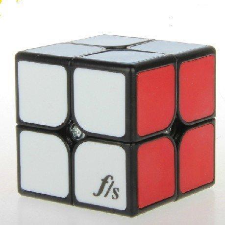 Fangshi Shuangren Funs Shishuang Tiled Small 2 x 2 x 2 Black Speed Cube Puzzle