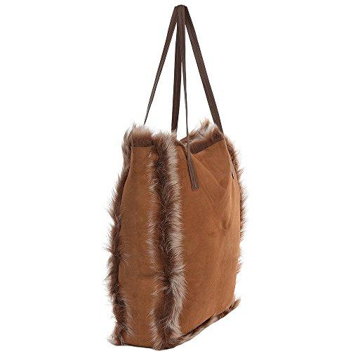 Ashwood Leather - Bolso mochila  para mujer marrón marrón