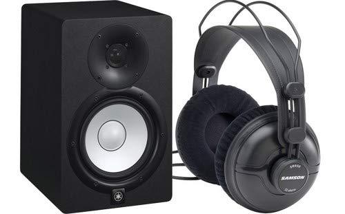 Yamaha Yamaha HS7 Active Monitor w/Samson SR950 Studio Headphone (Single) Package