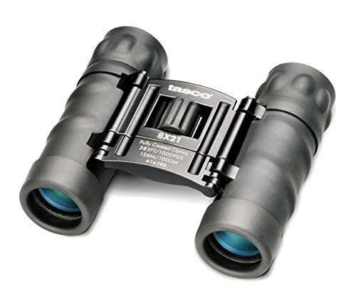 Tasco Essentials 12x 25mm Roof Prism Compact Binocular (Black)