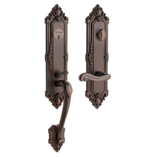 Baldwin 6426112RFD Venetian Bronze Estate-Kensington Tubular Kensington Full Dummy Right Handed Handleset with Interior Lever 6426.RFD by ()
