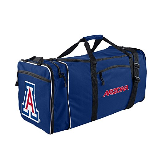 - Officially Licensed NCAA Arizona Wildcats Steal Duffel Bag