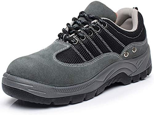 安全靴 ウォーキングシューズ メンズ レディース つま先保護 鋼鉄製先芯 牛革 通気性 超軽量 衝撃吸収 作業靴 スニーカー 静電気防止 耐油 防臭 耐磨耗 大きいサイズ 倉庫 工業と建築靴 滑り止め 革靴 男女兼用