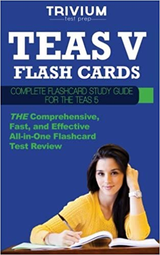 TEAS V Flash Cards: Complete Flash Card Study Guide for the TEAS V by Trivium Test Prep (2013-11-26)