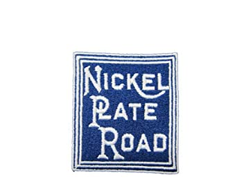 Nickel Plate Road Short Sleeve Embroidered Denim den54SS