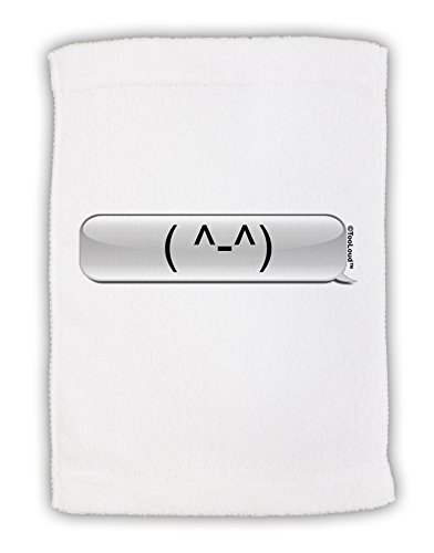 TooLoud Happy FaceText Bubble Micro Terry Sport Towel 15