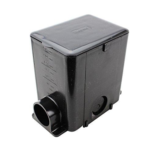 Wiremold 880MP PVC 1-Gang Multi-Service Floor Box 5-1/2 Inch x 4-1/8 Inch x 6 Inch 50 Cubic-Inch Modulink™ 880MP - Walker Floor Box
