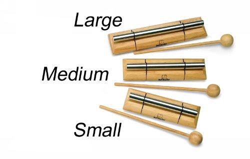 - Nino Percussion NINO579S Small Handheld Energy Chime, Natural