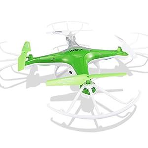 Eshion HD Camera Long Battery Life 2.4G 6-Axis Gyro RC Quadcopter Green