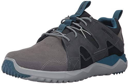 Merrell Men 1SIX8 Lace LTR Fashion Sneaker Charcoal