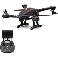 Ready to fly Multirotor Drone with 2 MP Camera FPV monitor GPS RTF