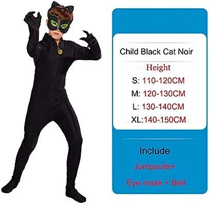 GJBXP Lady Bug Disfraces Niñas Niños Ladybug Jumpsuit + Máscara ...