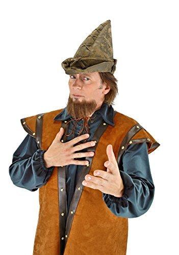 UHC Men's Robin Hood Peter Pan Elf Woodsman Moss Green Hat Costume Accessory ()
