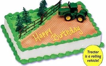 John Deere Cake 1 Authentic John Deere Rolling Tractor Trees