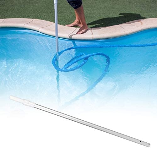Nannday Pool Pole, Pool Aluminiumlegierung Einstellbare Teleskopstange Multifunktionale Pool Rod Pool Versorgung