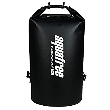 Aquafree Dry Bag, 100% Waterproof Dry Sack 5L - Black