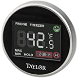 Taylor 1445 Taylor 1445 Pro Series Digital Fridge-Freezer Thermometer with Safety Zone