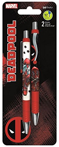 Deadpool Gel Pens 2 Pk