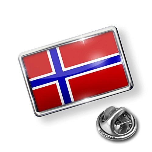 Pin Norway Flag - Lapel Badge - NEONBLOND for cheap